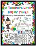 Classroom Management, Positive Behavior {Teacher's Little Bag of Tricks}
