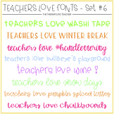 #TeachersLoveFonts 6
