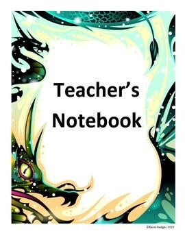 Teacher's Notebook-Dragon Theme