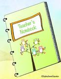Teacher's Notebook- Owls