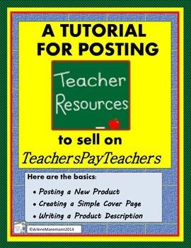 Teachers Pay Teachers New Sellers' Tutorial