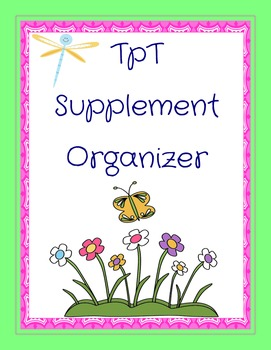 Teachers Pay Teachers Supplement Organizer