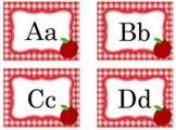 Classroom Decor Teacher's Pet Apple Word Wall Labels