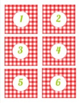 graphic regarding Printable Number Tags identified as Clroom Decor Academics Puppy Gingham Quantity Tag