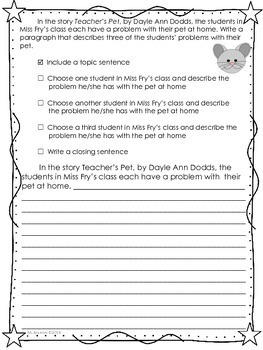 Teacher's Pet-Journeys Grade 2-Lesson 5