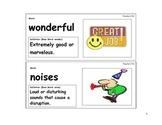 Teacher's Pet Vocabulary Cards