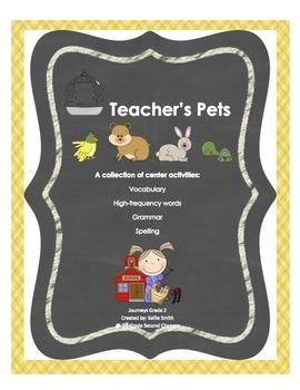 Teacher's Pets 2nd Grade Journeys Unit 1.5