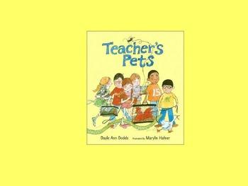 Teacher's Pets HMH Journeys 2nd Grade powerpoint