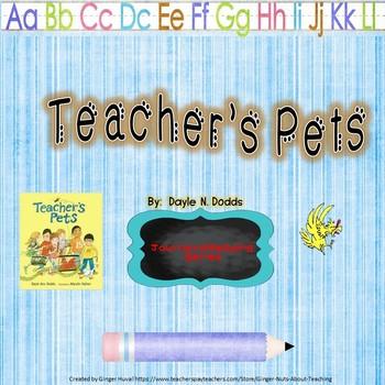 Teachers Pets Interactive Vocabulary Power Point, Journeys Reading Series