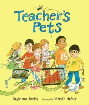 Teacher's Pets (Journeys Series) - Vocabulary Matching