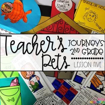 Teacher's Pets Supplement Materials Aligned with Journeys 2nd Grade