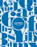 Teacher's Plan Book #10