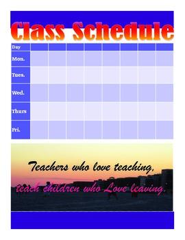 Teacher's Plan and Grade Book