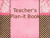 Teacher's Plan-it Book
