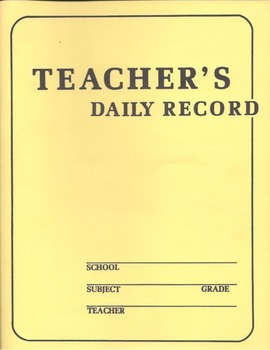 2014 - 15 Teacher's Planner/Binder with First Day of School Lesson and Word Wall