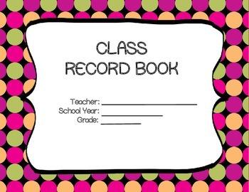Teacher's Record Book