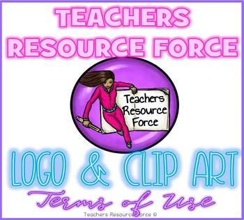 Teachers Resource Force: Clip Art Terms of Use and Logo