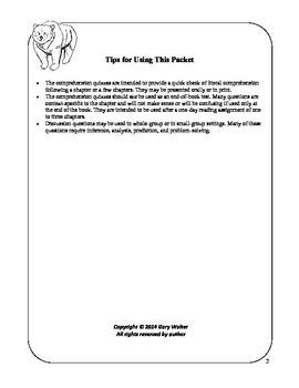 Teacher's Resource Packet for Gentle Ben