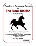 Teacher's Resource Packet for The Black Stallion