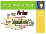 Teacher's Resume: Online Visual CV