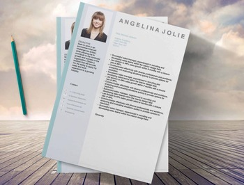 Teachers Resume Template 3 page |  MS Word | Modern Resume