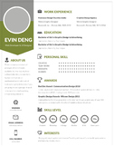 Teacher's Resume Template | Pale Green | Resume Design + Cover Letter