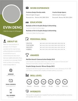 Teacher's Resume Template | Pale Green | Resume Design + Cover Letter