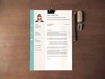 Teacher S Resume Template Professional Resume Design Cover Letter
