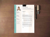 Teacher's Resume Template | Professional Resume Design + C
