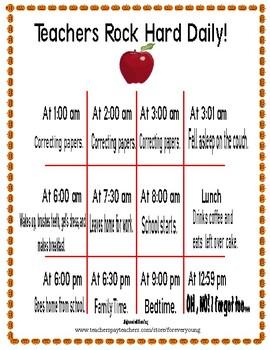Teachers Rock Hard Daily!