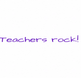 Teachers Rock! animation