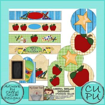 Teachers Rule Mason Jar Printable Set
