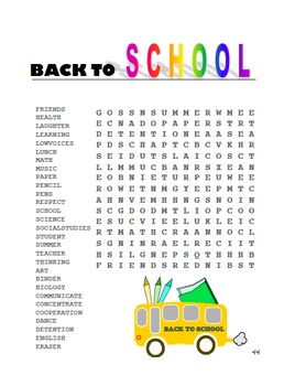Teacher's Survival Kit and Classroom Management For The First Week Back