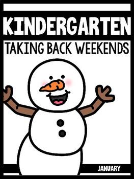 Kindergarten Teachers Taking Back Their Weekends {January Edition}