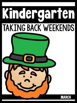 Kindergarten Teachers Taking Back Their Weekends {March Edition}