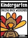 Kindergarten Teachers Taking Back Their Weekends {November Edition}