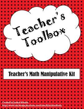 Teacher's Toolbox: Base Ten & Counters Math Manipulatives