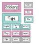 Teacher's Toolbox (Editable) Bright Chevron