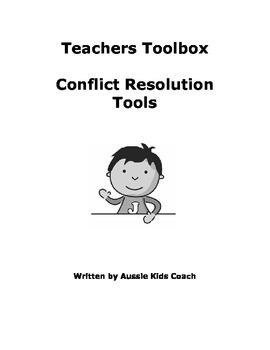 Teachers Toolbox - Conflict Resolution Tools
