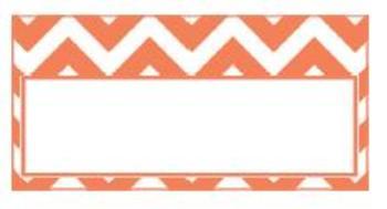 Teachers Toolbox Editable Labels Coral Chevron