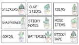 Teachers Toolbox Labels - Cactus