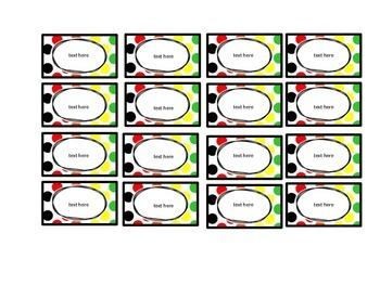 Teachers Toolbox Labels {Editable}