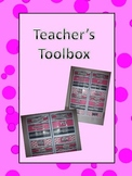 Teachers Toolbox Materials Organizer labels