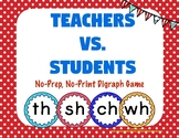 Teachers Vs. Students: A No-Prep, No-Print Digraph Game