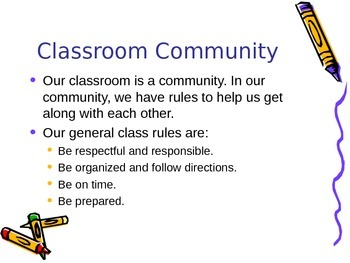 Teacher's Welcome to My Classroom PPP