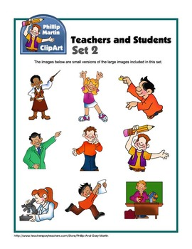 Teachers and Students Set 2
