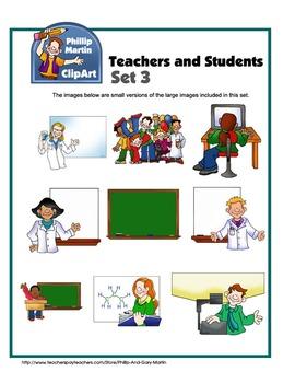 Teachers and Students Set 3