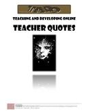 Teachers quotes (list) TADO