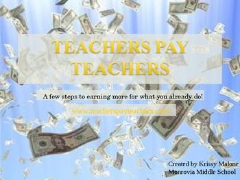 TeachersPayTeachers Tutorial PowerPoint