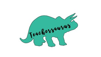 Teachersaurus Clipart